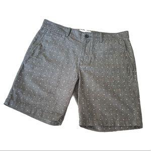 Original Penguin Printed Flat Front Shorts NWOT